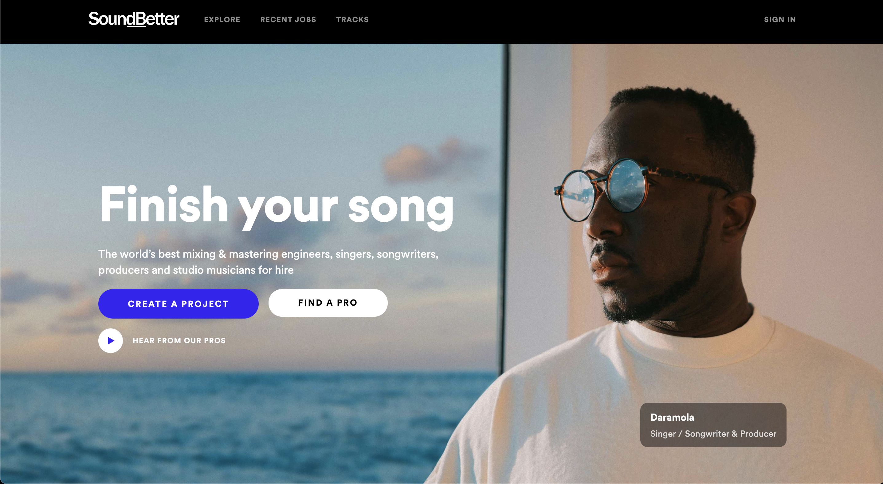 We replatformed Spotify's acquired product SoundBetter to make it more highly available.