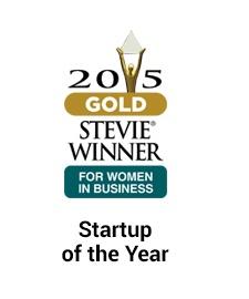 2015 stevie winner startup of the year