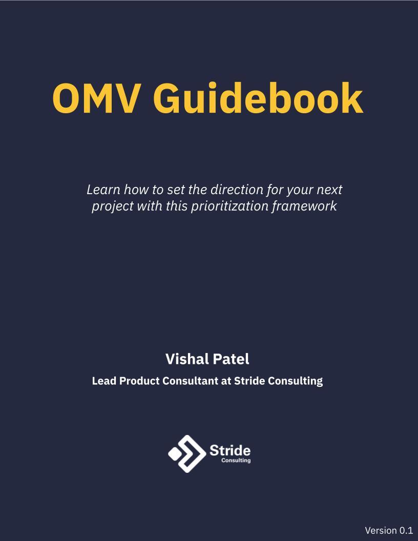 OMV Guidebook