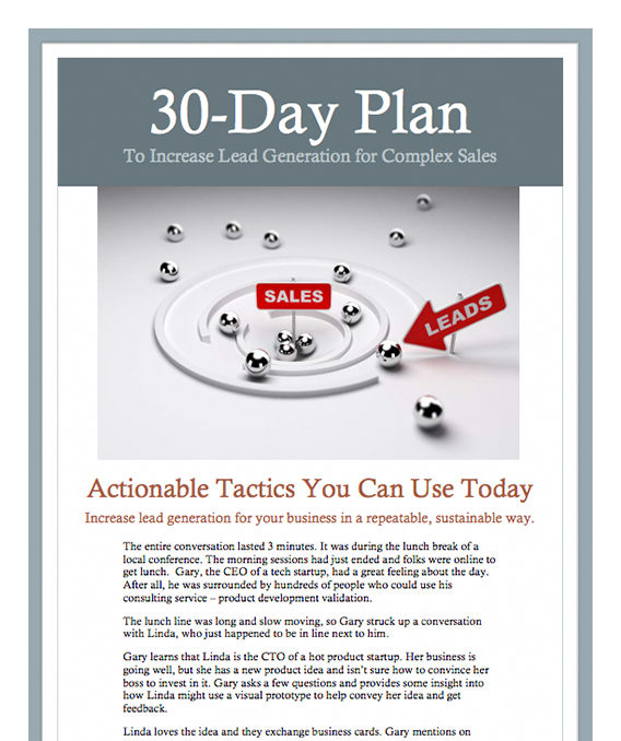 30-Day-Lead-Generation-Plan-for-Complex-Sales