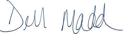 Debbie Madden Signature